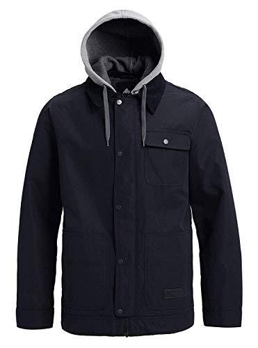 - Burton Men's Dunmore Jacket, True Black Heather Buffalo Plaid, Medium