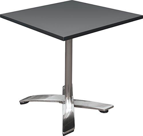 Balt Flip Top Nesting Bistro Cafe Table, Black, (90354) -