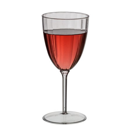 Plexware 8oz One Piece Wine Goblet 8/pack