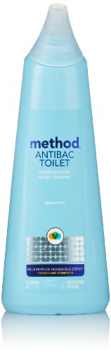 Method Antibacterial Toilet Bowl Cleaner, Spearmint, 24 Ounce