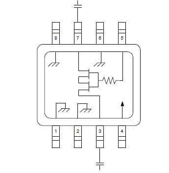 Attenuators .5-2.0GHz 4dB VVA IL 3.0dB TYP. Pack of 10 (MAAV-008022-TR3000)