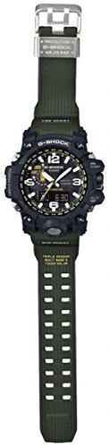 - Casio G-Shock Mudmaster Black-Tone Dial Resin Quartz Men's Watch GWG1000-1A3