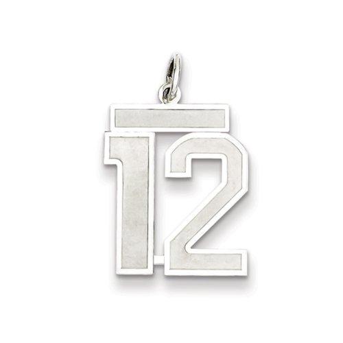 number 12 pendant - 1