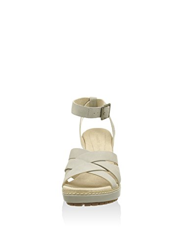 Timberland Sandalo Con Tacco Chauncey Ankl Avorio EU 41 (US 9.5)