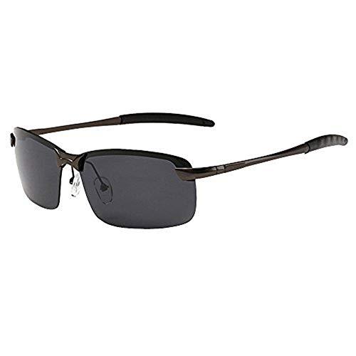 JYS Semi Rimless Polarized Sunglasses Vintage Ultra Lightweight Sun Glasses Fashionwear Pop Polarized Sun Eye Glass