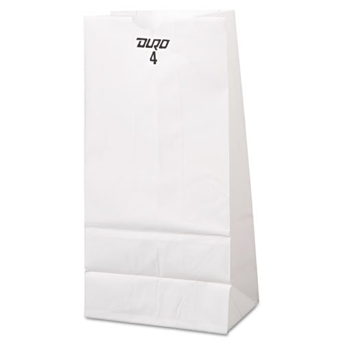 baggw4500 – 4 # Bleached紙バッグ、5 x 3 1 / 3 x 9 3 / 4 B0195V4FLY
