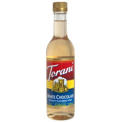 Torani White Chocolate Syrup, 375 Milliliter (Pack of 6)