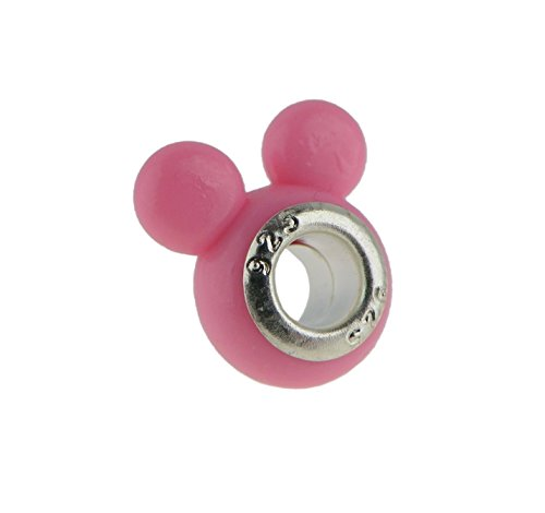 Urban Outfitters Animal Costumes (Rosemarie Collections Women's Cute Mouse Ears Charm Bead (Light Pink))