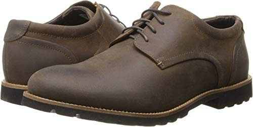 & Ready Colben Brown Oiled Leather Oxford 8 M (D)-8  M ()