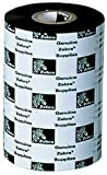 Zebra 05319BK11045 Wax Ribbon 5319 Performance (4.33'' x 1476'), 6 Rolls