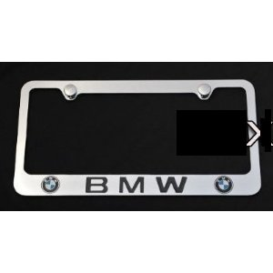 BMW License Plate Frame New  sc 1 st  Amazon.com & Amazon.com: BMW License Plate Frame New: Automotive