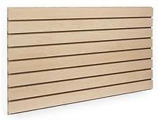 (Maple Slatwall Panels 24