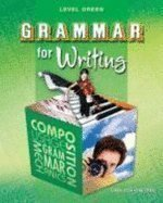 Grammar for Writing: Level Green