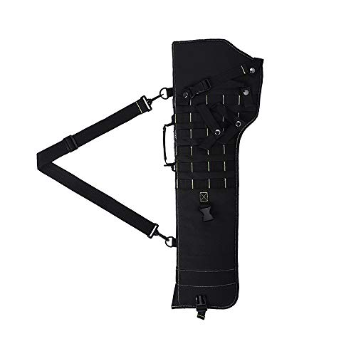 (Tactical Rifle Scabbard Gun Bag Rifle Sling Case Bag Shotgun Scabbard Outdoor Hunting Gun Molle Holster)