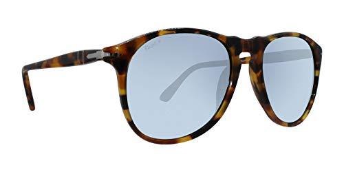 Persol Mens Sunglasses Brown/Blue Acetate - Polarized - 55mm