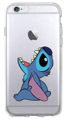 coque iphone 8 stitch rose