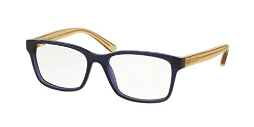 Tory Burch TY2064 Eyeglass Frames 1562-52 - Navy/pinot - Glasses Burch Tory