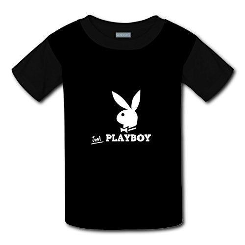 Clofun Child T-Shirts Creative Playboy Printed Short Sleeve Tee Shirt