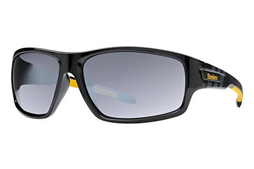 NFL Pittsburgh Steelers Mens Sunglasses - Black/Smoke - Sunglasses Pittsburgh