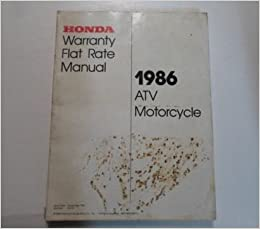 motorcycle flat rate manual