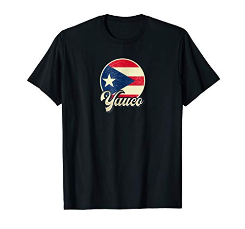 Vintage Retro Yauco Puerto Rico T-Shirt