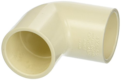 King Brothers Inc. RCE-1250-S 1-1/4-Inch Solvent PXL CPVC 90 Elbow, Tan ()