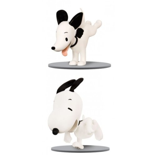 Peanuts Snoopy Then Now Figure product image
