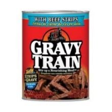 Gravy Train Strips In Gravy with Beef Strips Dog Food, 13.2 Ounce -- 12 per case. (Gravy Train Beef Flavor)