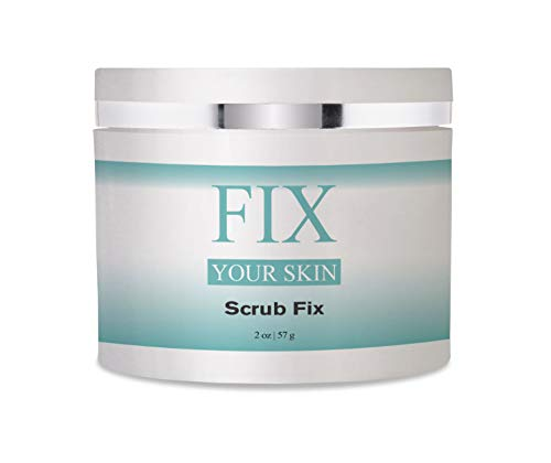 Scrub Fix by Fix Your Skin 123 - Microdermabrasion Resurfacing Exfoliator that Improves Dull and Uneven Skin - Resurfacing Microdermabrasion
