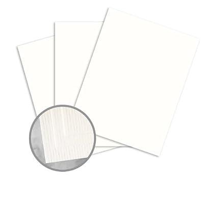 CLASSIC Laid Avon Brilliant White Paper - 8 1/2 x 11 in 70 lb Text Laid 500 per Ream
