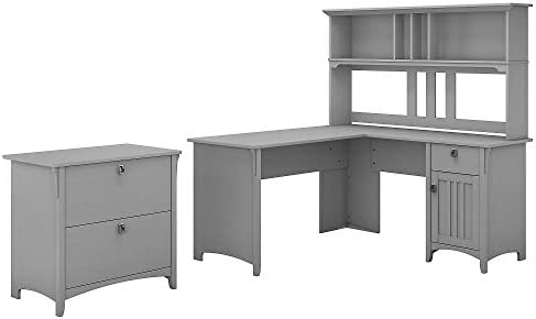 Bush Furniture Salinas 60W L Shaped Desk
