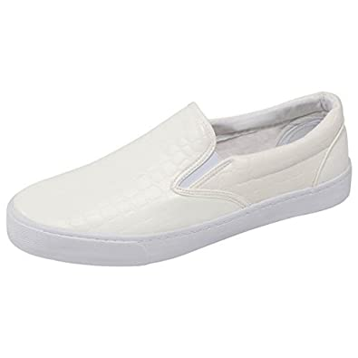 88a9bba6f Rock and Religion CLIVE Shoe White White Size 8  Amazon.co.uk  Shoes ...