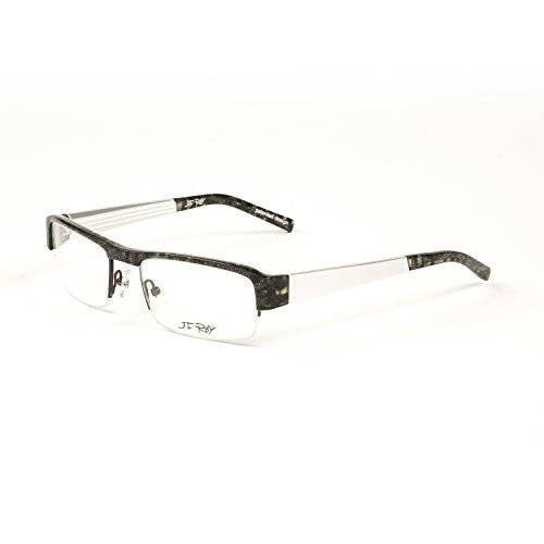3350b345cb3 J.F. Rey Semi-Rim Eyeglass Frames 54mm Classic Tweed Checks