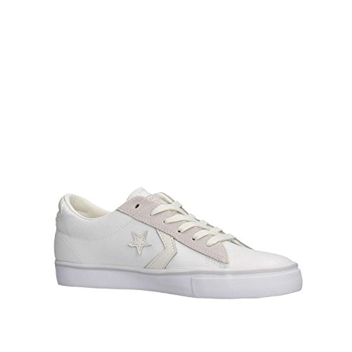White Leather Bianco Converse Ox Vulc 560970C Pro P6xZX4