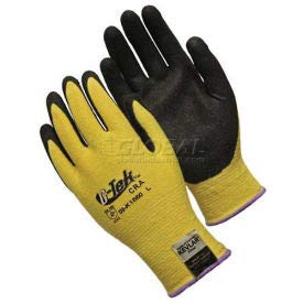 PIP Kevlar Gloves W/Micro surface Nitrile Coated Palm & Fingers, Medium Weight, L (09-K1660/L)