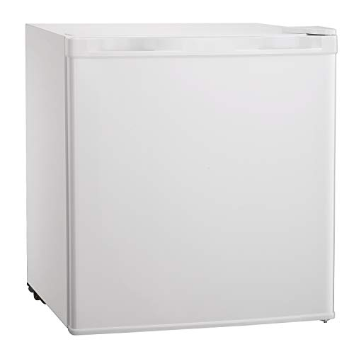 Tavata Compact Refrigerator Single Door Mini Fridge with Freezer and Reversible Door,Perfect for Home Office Dorm or RV, 1.7 Cubic Feet. (White)