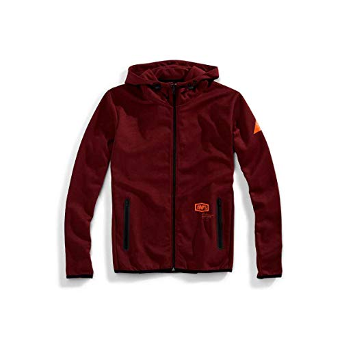 Burgundy Zippé À Viceroy Sweat 100 Capuche Percent 6xqwH7ZvB