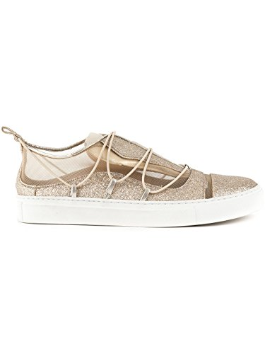 Donna On SNW0507292000017043 DSQUARED2 Sneakers Slip Oro Glitter wvAWWR8qz