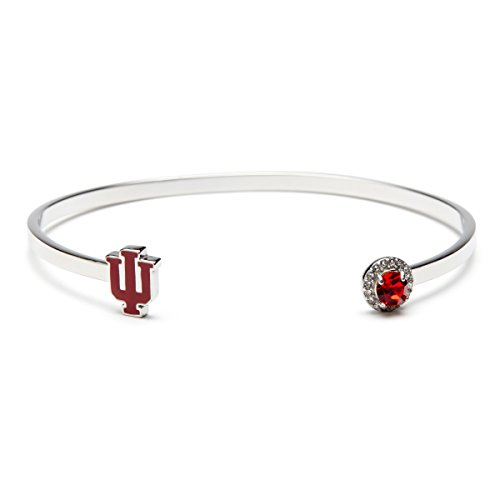 Indiana University Bracelet | IU Hoosiers Bracelet | Officially Licensed Indiana University Jewelry | Indiana University Gifts | IU Gifts | Stainless Steel