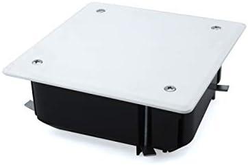 Caja de empalme empotrar 100x100 tabique hueco: Amazon.es ...