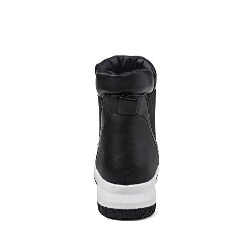 Noir Sandales Femme Abl09605 Compensées Balamasa H1IqzwXX