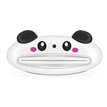 Peepheaven Tubo de Pasta de Dientes de Dibujos Animados Exprimidor Dispensador fácil Laminador para el baño