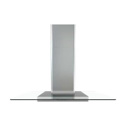 Zephyr BFG-E30AG 600 CFM 30 Inch Wide Wall Mounted Range Hood with Halogen Light, Stainless Steel with Glass