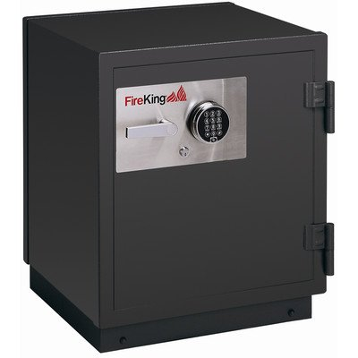 2 Hr Fireproof Burglary Safe Color: Graphite, Lock Type: Electronic, Size: 11.2 CuFt (Hr Fireproof Safe 2)