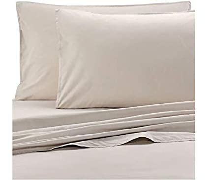 Amazon.com: Bellora Gregory King Pillowcases in Linen (Set ...