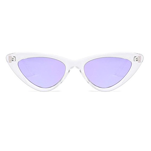 femmes Eye Super Chic Meijunter soleil Mode lunettes Eyewear Vintage Triangle Cat C10 Retro de Mod qZqvw1