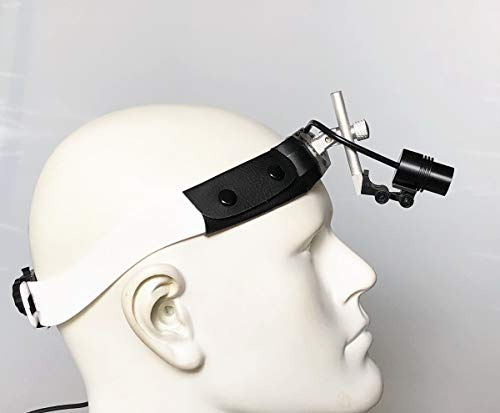 Songzi Optics Adjustable Brightness 3W LED Dental Surgical Headlight Using for Dentistry, Plastic Surgery Others (Headband Model) by Songzi Optics (Image #3)
