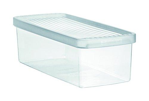 Caixa Plástico Para Legumes Ordene Br Cristal Pequeno