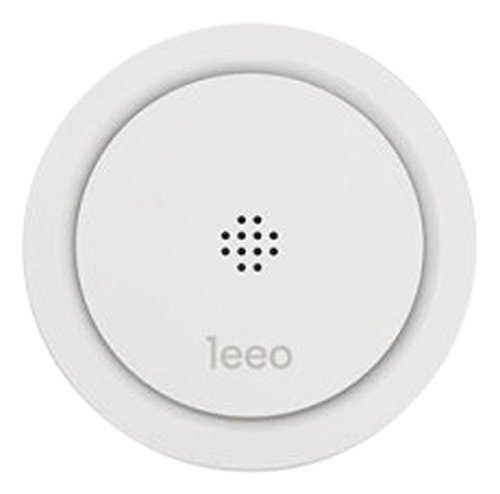 Leeo Smart Alert Smoke/CO Remote Alarm Monitor for iOS and Android, white