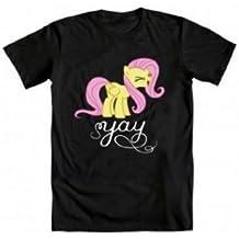 My Little Pony Men's Fluttershy Yay T-shirt
